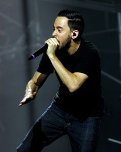 Mike Shinoda Photos Photos - Singer/musician Mike Shinoda of Linkin Park performs for fans that raised money to benefit Music For Relief and Save The Children of Japan at the Mayan Theatre on August 31, 2011 in Los Angeles, California. - Linkin Park And B'z Perform For Fundraising Fans At The Mayan Theatre