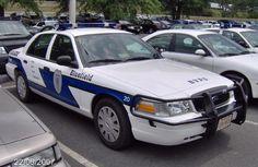 Bluefield, VA police cruiser