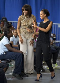 Michelle Obama, Kerry Washington