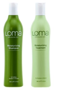 cool Loma Organics Moisturizing Shampoo and Conditioner 12 Oz