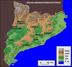 Muntanyes i rius de Catalunya