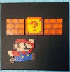 Super Mario Bead Canvas by TwistedYarnCrafts on Etsy