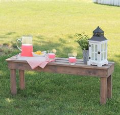 If you want a basic DIY wood bench that won't break bank, then this is the project for you. This may be the most Simple and Affordable Outdoor DIY Bench yet!