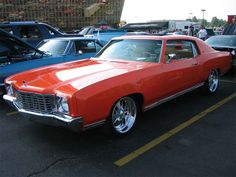 The Chevrolet Monte Carlo was an American-made two-door coupe introduced for model year 1970, and manufactured over six generations through model year 2007. Description from pinterest.com. I searched for this on bing.com/images