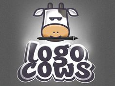 Lanotdesign-logocows-logo_dribbble
