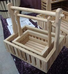 Amish Handcrafted Garden Basket Planters | Amish Baskets & Crates 7809