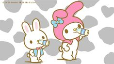 Little Twin Stars, Little Girls, Sanrio Characters, Fictional Characters, Hello Kitty My Melody, Animal Crossing, Aesthetic Wallpapers, Smurfs, Pop Culture