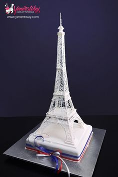 Learn how to make a sugar Eiffel Tower Cake Topper with highly accurate proportions! Made at 1:500 scale, Serdar Yener will walk you through the entire process so that you can create your very own Eiffel tower cake topper. Comes with downloadable templates and blueprints. http://www.yenersway.com/tutorials/cake-toppers/eiffel-tower-cake-topper/