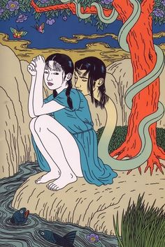 The erotic horror art of Toshio Saeki | Dangerous Minds