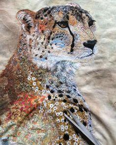 Sophie Standing 's textile art