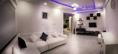 Salon moderno blanco