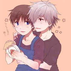 Shinji x Kaworu