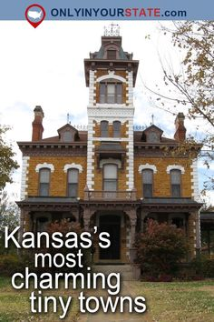 Here Are The 10 Most Beautiful, Charming Small Towns In Kansas Kansas Attractions, American Attractions, Usa Places To Visit, Places To Travel, Places To Go, Kansas Day, Kansas City Missouri, Weekend Trips, Day Trips