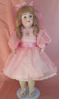 "20"" Kestner Bisque Head Doll on replaced composition Body ~ Nice Doll!"