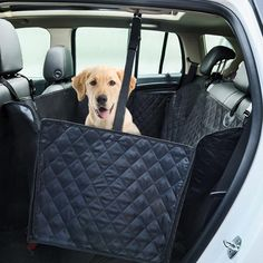 GEMEK Dog Car Seat Covers, Dog Seat Cover Pet Seat Cover for Cars Trucks and SUVs, WaterProof and Side Flaps, Hammock Convertible - Black (Back Seat Cover With Zip) -- More info could be found at the image url. (This is an affiliate link) Pet Car Seat Covers, Back Seat Covers, Dog Car Seats, Dog Hammock, Hamster, Tier Fotos, Dog Carrier, Dog Supplies, Doge