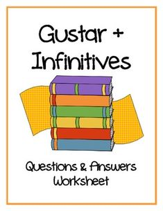 1000 images about verbs like gustar on pinterest spanish lessons spanish and worksheets. Black Bedroom Furniture Sets. Home Design Ideas