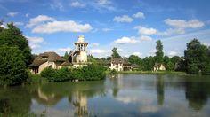 Panorámica de los Jardines de la Reina Marie Antonitte. Versailles (France), 2013
