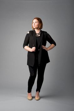 7684bcd1a8 43 Tricks Plus Size Women to Wear Outfits this Winter