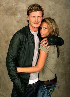 David and Victoria Beckham (2005)