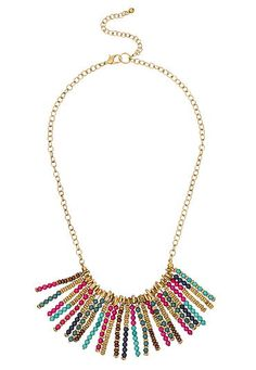 Maurices Seed Bead Necklace SSk0o