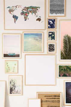 Natural Wood Art Print Frame - Urban Outfitters