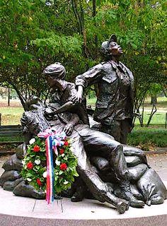 Vietnam Nurses Memorial, Washington DC.
