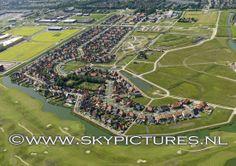 Woonwijk Mortiere aan de zuidzijde van Middelburg