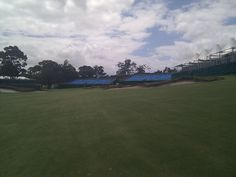 Victoria GC just before the Presidents Cup.