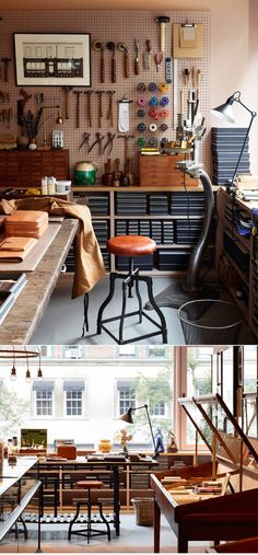 Anya Hindmarch New York flagship store.      http://anyasworld.anyahindmarch.com/2013/08/22/now-open-our-new-york-flagship/
