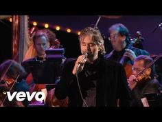 Andrea Bocelli - Pero Te Extrano - Live From Lake Las Vegas Resort, USA / 2006 - YouTube