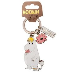 Disaster Designs Moomin Snorkmaiden Keyring - Le Loup, Eastbourne