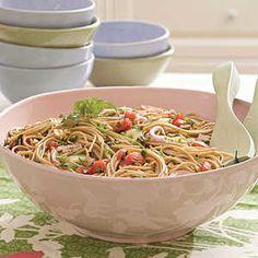 125 Sensational Summer Sides | Tomato-Herb Pasta | MyRecipes