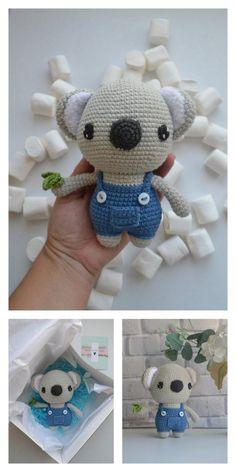 Educational and interesting ideas about amigurumi, crochet tutorials are here. Crochet Elephant Pattern, Crochet Teddy Bear Pattern, Knitted Teddy Bear, Crochet Animal Patterns, Stuffed Animal Patterns, Crochet Patterns Amigurumi, Amigurumi Doll, Crochet Toys, Crocheted Jellyfish