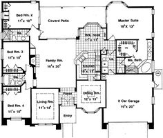 images about Floor Plans on Pinterest   Carrie Bradshaw    Plan HD  Dramatic Clerestory Windows  Floor
