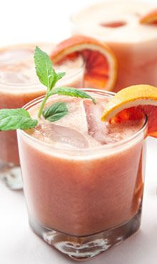 Blood Orange Mojito: The unique orange flavor in this drink is the perfect combo of sweet and sour.