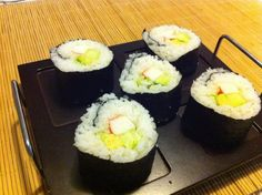 Made my own Sushi.