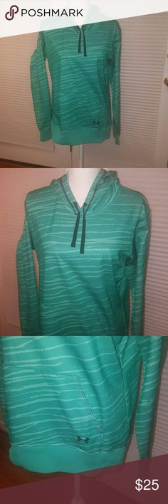Under Armour green sweatshirt medium Excellent condition, no signs of wear. Green under armour hoodie. Size medium. Great for all seasons! Under Armour Tops Sweatshirts & Hoodies