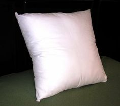 "18x18 Synthetic Down Pillow Form Insert by Pillowflex. $12.25. Synthetic Down Fiber Fill. Machine Washable. Look and Feel of down with no allergies. Cover with a Poly / Cotton Covering. Non-allergenic. Revive your old shams or fill your new one with this new 18"" x 18"" Synthetic  Down Insert Filled with High Quality Long Lasting Soft Polyester Filling. This  insert is plump and full from corner to corner with supper soft down like  filling. Now you can have down without the all..."