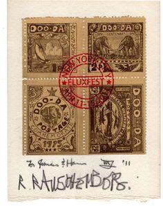 EF Higgins III, New York - Artistamps by Francis Van Maele