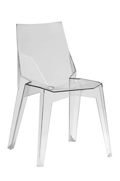 Transparent Polycarbonate Chairs Chairs Kitchen Chairs Simple and Practical Transparent Chair,Clear