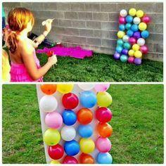 Juego con globos