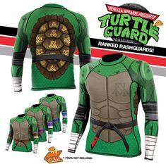 Newaza Apparel - Ninja Turtle rashguard