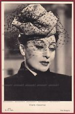CLARA CALAMAI 05 ATTRICE ACTRESS CINEMA MOVIE - PRATO Cappello Hat Cartolina FOT