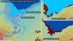 """Due meteoriti, intorno a tre miliardi di anni fa, provocarono onde alte fino a 120 metri. Le tracce sulla superficie sono visibili ancora oggi. """"In quegli"""