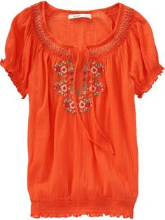 Old Navy - I love the folky blouses