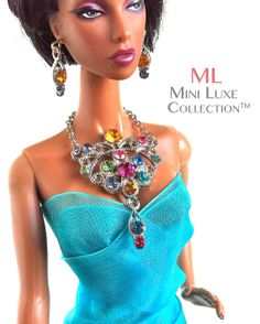Doll Jewelry for Fashion Royalty dolls Poppy by MiniLuxeCollection, $26.00