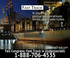 Stop Fast Track!