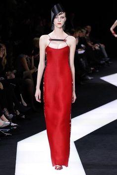 Armani Privé Spring 2013 Couture Fashion Show Collection