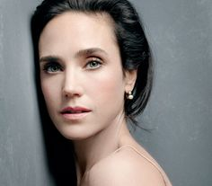 Jennifer Connelly photographed for Shiseido, 2014.
