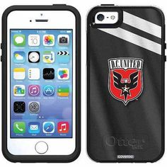 D.C. United Jersey Design on OtterBox Symmetry Series Case for Apple iPhone 5SE/5s/5